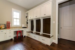 Southern Living Model Mudroom