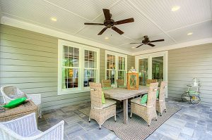 Southern Living Model Porch